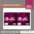 Disco Party Chocolate Wrappers