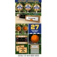 Basketball Invitation & Party Decorations (Golden State Warriors)