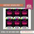 Neon Glow Party VIP Passes
