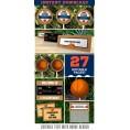 Basketball Invitation & Party Decorations (Oklahoma City Thunder)