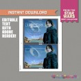 Star Wars Rogue One Party Printable Invitation (Jyn Erso)