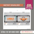 Star Wars Party Chocolate Wrappers (Rebel Alliance)