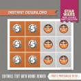 Star Wars Party Printable Birthday Labels (Rebel Alliance)