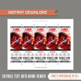 Star Wars The Last Jedi Ticket Invitations