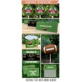 Football Party Printables, Invitations & Decorations