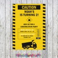 Construction Party Printable Collection & Invitations